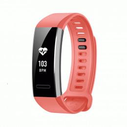 Розовый спортивный силиконовый ремешок для Huawei Band 2 Pro 0001-02-1