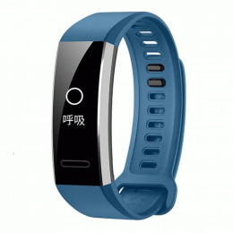 Синий спортивный силиконовый ремешок для Huawei Band 2 Pro 0001-02-2