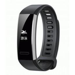 Черный спортивный силиконовый ремешок для Huawei Band 2 Pro 0001-02-3