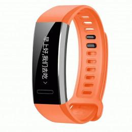 Оранжевый спортивный силиконовый ремешок для Huawei Band 2 Pro 0001-02-4