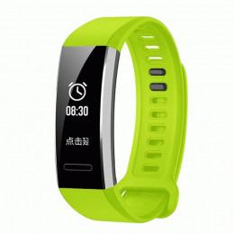 Зеленый спортивный силиконовый ремешок для Huawei Band 2 Pro 0001-02-5