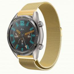 Золотой стальной магнитный ремешок для Huawei Watch GT / GT2 0003-02-2