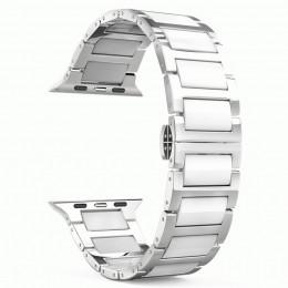 Белый керамический ремешок для Apple Watch 0005-01-2