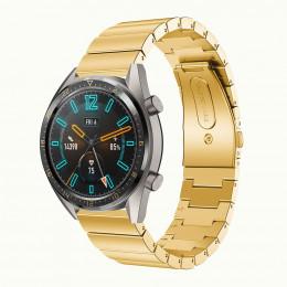 Золотой ремешок из нержавеющей стали для Huawei Watch GT / GT2 0008-02-1