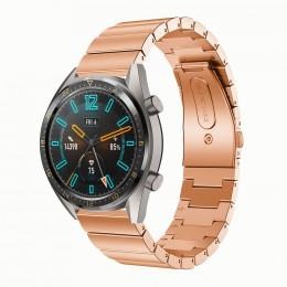 Розовое золото ремешок из нержавеющей стали для Huawei Watch GT / GT2 0008-02-2