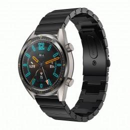 Черный ремешок из нержавеющей стали для Huawei Watch GT / GT2 0008-02-4