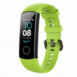 Зеленый силиконовый универсальный ремешок для Huawei Honor Band 4/5 0009-02-10