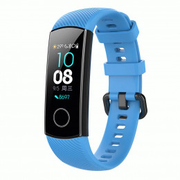 Голубой силиконовый универсальный ремешок для Huawei Honor 4 0009-02-8
