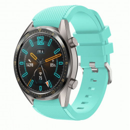 Бирюзовый силиконовый спортивный ремешок для Huawei Watch GT / GT2 0010-02-10