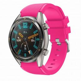 Розовый силиконовый спортивный ремешок для Huawei Watch GT 0010-02-11