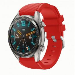 Красный силиконовый спортивный ремешок для Huawei Watch GT 0010-02-12