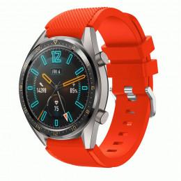 Апельсиновый силиконовый спортивный ремешок для Huawei Watch GT / GT2 0010-02-13