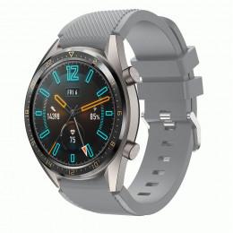Серый силиконовый спортивный ремешок для Huawei Watch GT / GT2 0010-02-18