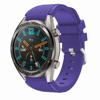 Фиолетовый силиконовый спортивный ремешок для Huawei Watch GT / GT2 0010-02-4 - купить в интернет-магазине Handband.ru