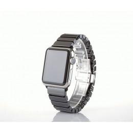 Черный керамический ремешок для Apple Watch 0015-01-2