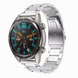 Серебряный металлический ремешок из нержавеющей стали для Huawei Watch GT / GT2 0015-02-1
