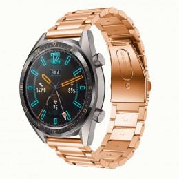 Розовое золото металлический ремешок из нержавеющей стали для Huawei Watch GT / GT2 0015-02-4