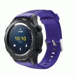 Фиолетовый силиконовый спортивный ремешок для Huawei Watch 2 0020-02-2