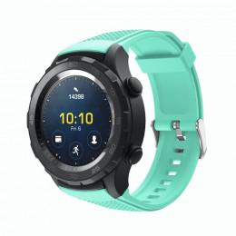 Мятный силиконовый спортивный ремешок для Huawei Watch 2 0020-02-4