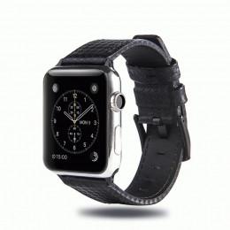 Черный кожаный ремешок для Apple Watch 0025-01-1