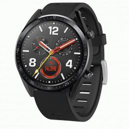 Черный двухцветный силиконовый ремешок для Huawei Watch GT / GT2 0040-03-7