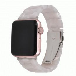 Белый звеньевой ремешок из полимерной смолы для Apple Watch 0052-01-2