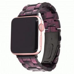 Фиолетовый звеньевой ремешок из полимерной смолы для Apple Watch 0052-01-5