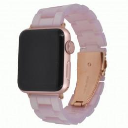 Розовый керамический ремешок для Apple Watch 0052-01-6