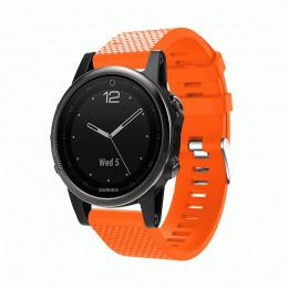 Оранжевый силиконовый спортивный ремешок для Garmin Fenix 5s/5s plus/6s 0059-02-8