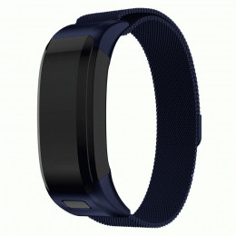 Синий миланский металлический ремешок для Garmin Vivosmart HR 0062-02-1