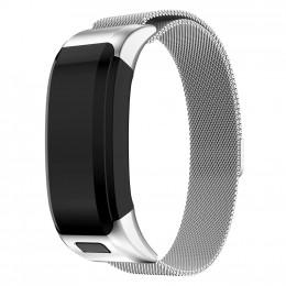 Серебряный миланский металлический ремешок для Garmin Vivosmart HR 0062-02-3
