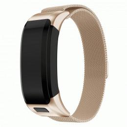 Золотой миланский металлический ремешок для Garmin Vivosmart HR 0062-02-6