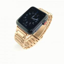 Розовое золото стальной ремешок из нержавеющей стали для Apple Watch 0063-01-4