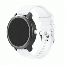 Белый силиконовый ремешок для Garmin Vivoactive 3 0064-02-1