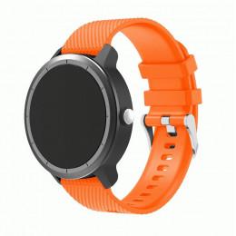 Оранжевый силиконовый ремешок для Garmin Vivoactive 3 0064-02-3