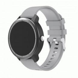 Серый силиконовый ремешок для Garmin Vivoactive 3 0064-02-4