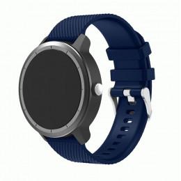 Темно-синий силиконовый ремешок для Garmin Vivoactive 3 0064-02-5