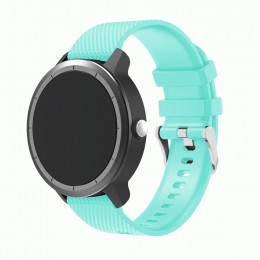 Бирюзовый силиконовый ремешок для Garmin Vivoactive 3 0064-02-6