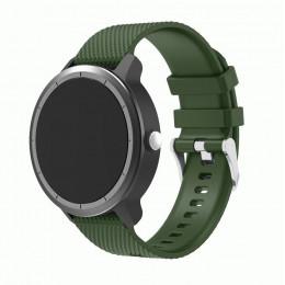 Зеленый силиконовый ремешок для Garmin Vivoactive 3 0064-02-7