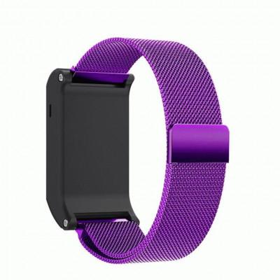 Фиолетовый миланский магнитный ремешок для Garmin Vivoactive HR 0065-02-3