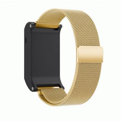 Золотой миланский магнитный ремешок для Garmin Vivoactive HR 0065-02-4
