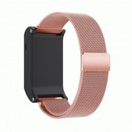Розовый миланский магнитный ремешок для Garmin Vivoactive HR 0065-02-8