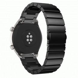 Черный металлический сплошной ремешок из нержавеющей стали для Xiaomi Amazfit Pace 0083-02-2