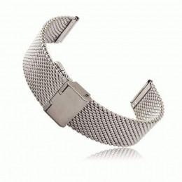 Серебряный миланский стальной ремешок для Samsung Gear S3/Galaxy Watch 46мм 0095-01-2