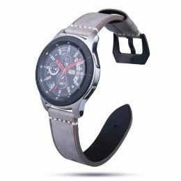 Кофейный классический кожаный ремешок для Samsung Gear S3/Galaxy Watch 46мм 0103-01-4