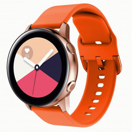 Оранжевый спортивный силиконовый ремешок для Samsung Galaxy Watch 42мм/Gear Sport/Gear S2 Classic 0104-01-2