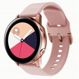 Розовый спортивный силиконовый ремешок для Samsung Gear/Galaxy Watch 42мм-46мм 0104-01-3