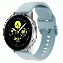 Светло-голубой спортивный силиконовый ремешок для Samsung Galaxy Watch 42мм/Gear Sport/Gear S2 Classic 0104-01-7