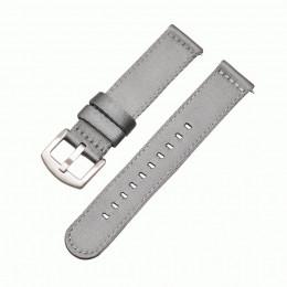 Серый нейлоновый ремешок для Samsung Gear/Galaxy Watch 42мм-46мм 0116-01-6